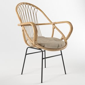 3d sling chair model
