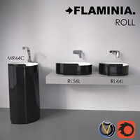 Flaminia Roll bathroom sink