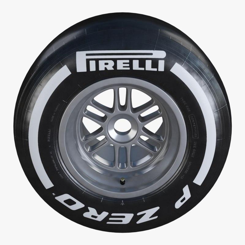 formula1 wheel pirelli pzero max