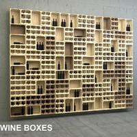 wine box 3d model