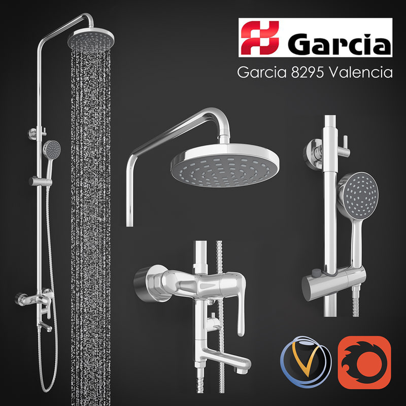 shower column garcia 8295 max