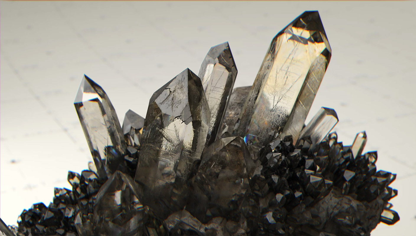 crystal kit - trigonal obj