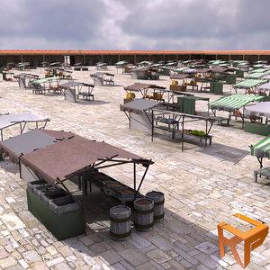 3d model bazaar marketplace
