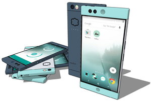 3d nextbit robin mobile phone model