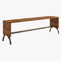 3d table 96 model