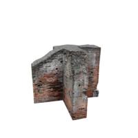Ruined Wall 03