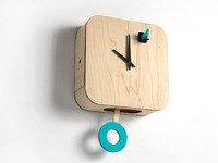 B83Box Cuckoo Clock with Pendulum by Pedro Mealha