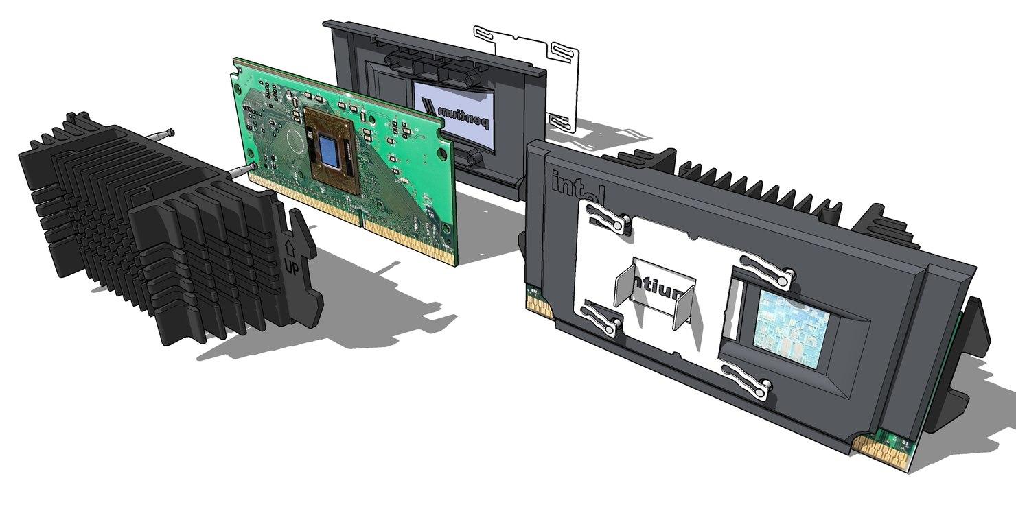 3d pentium cpu model
