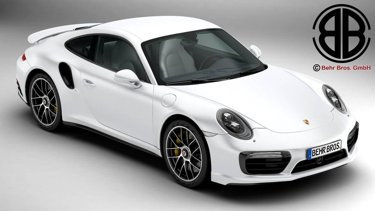 porsche 911 turbo s 3d x