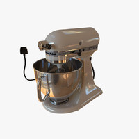 artisan stand mixer 3d model