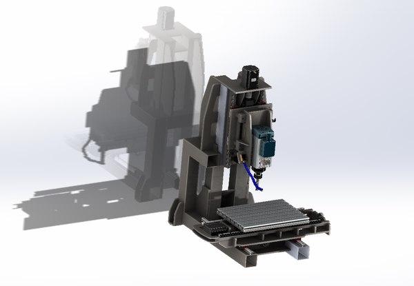 cnc milling 3d 3ds