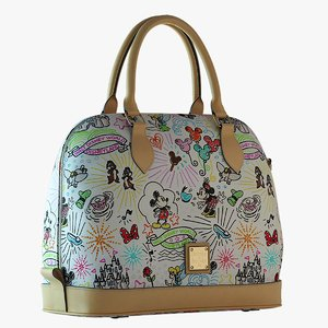 3d model dooney bourke sketch satchel