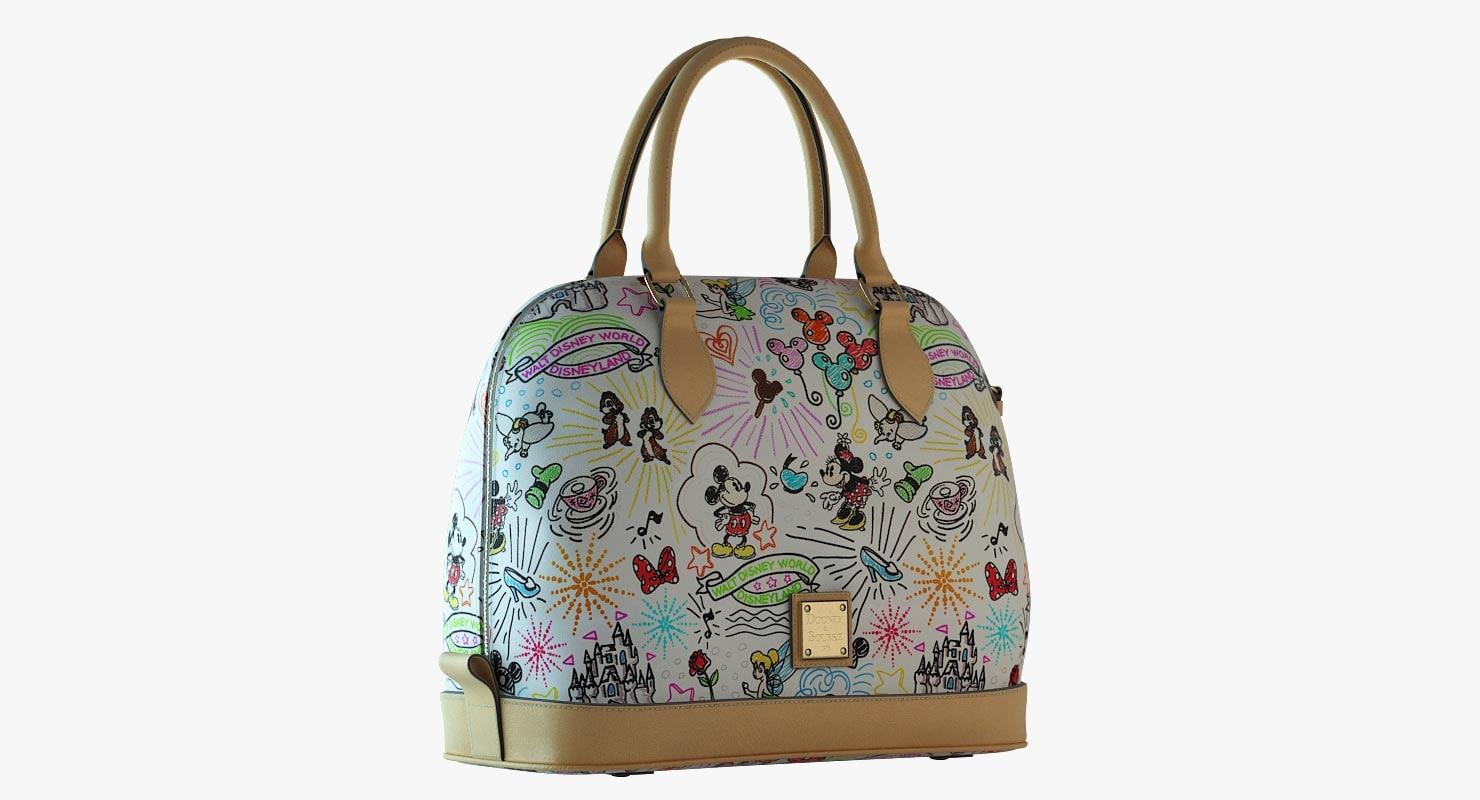 3d model dooney bourke sketch satchel