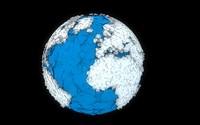 c4d terrestrial globe