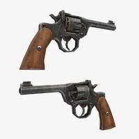 mki revolver gun 3d max