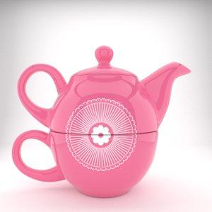 3ds tea kettle