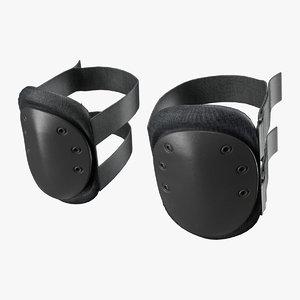 knee pads 3d max