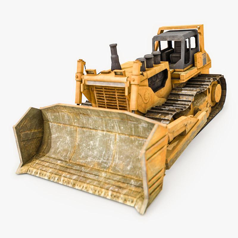 bulldozer hydraulic industrial buildings max