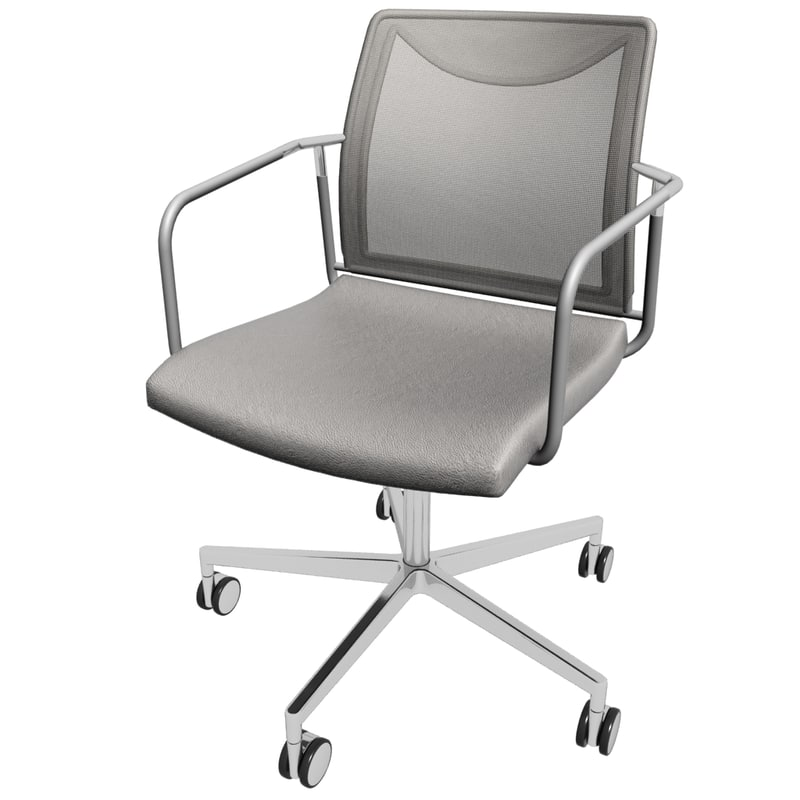 3d office chair 6 model