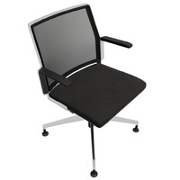 3d model office chair 7