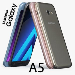 samsung galaxy a5 2017 3d max