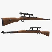 3d mauser s gun