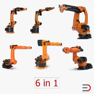 3d model kuka robots 5