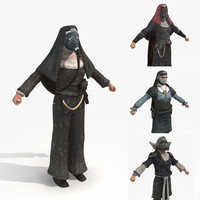 - wasteland 2 nuns 3d fbx
