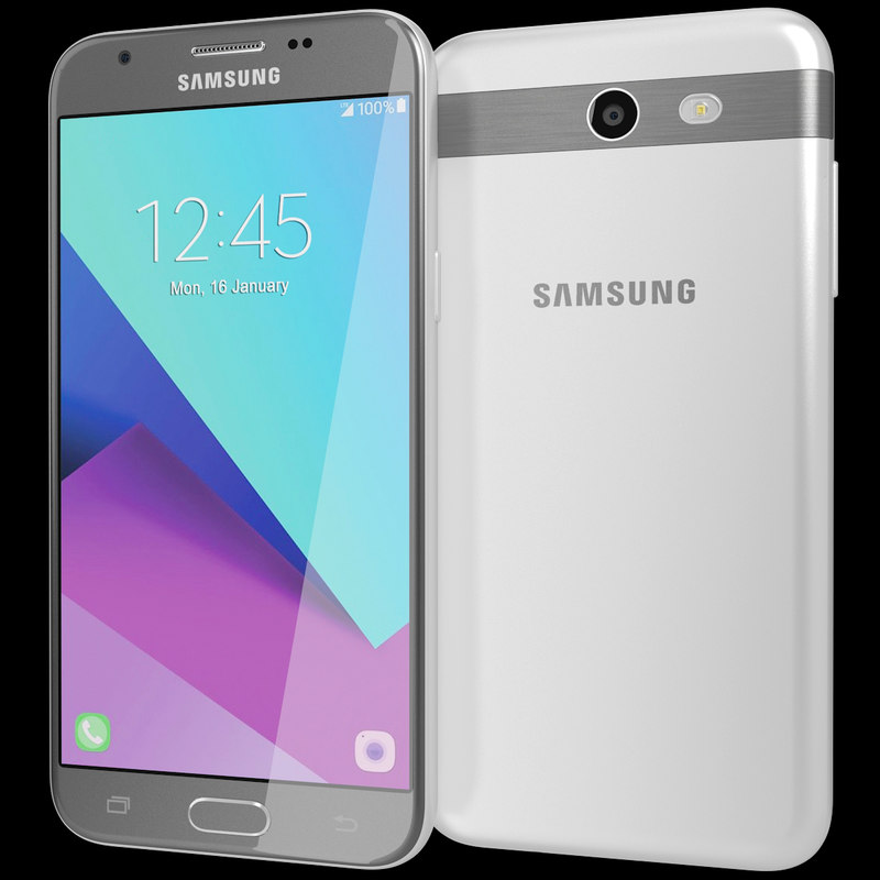 3d model realistic samsung galaxy j3