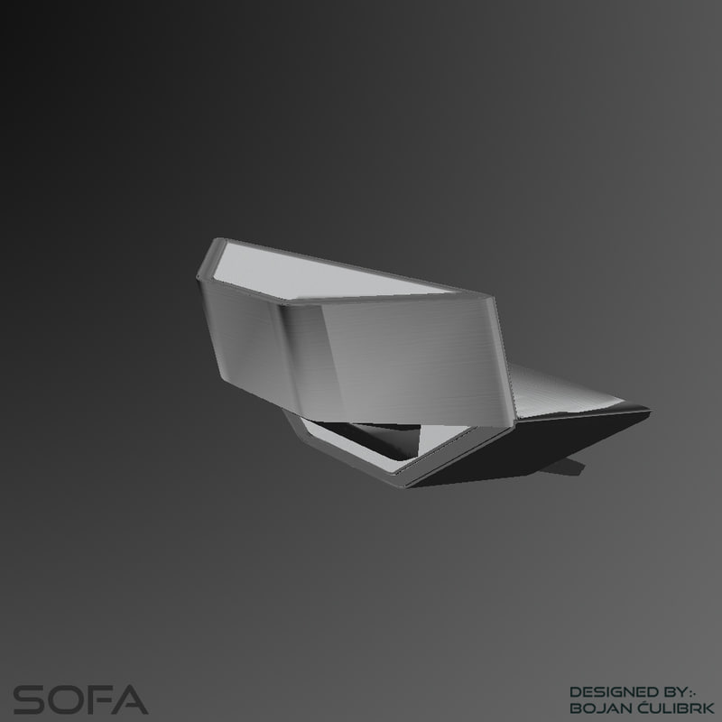 3d andromeda sofa 3 model