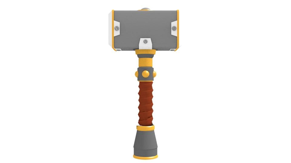 dwarven hammer 3d model