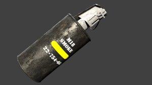 free 3ds model ready grenade