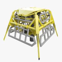 3d model shallow svxt subsea