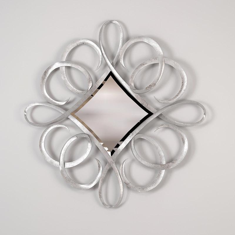 3d model guy furniture ephemeral mirror