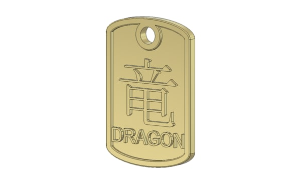dragon pendant ige