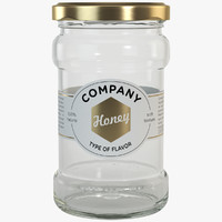 Twist-Off Honey Jar