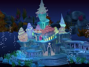 max cartoon underwater palace