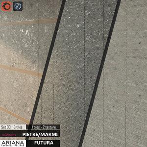 3d tile ariana futura set