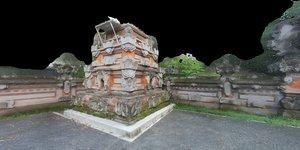 3d model temple shrine