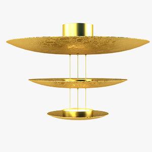 3d model catellani lamp light