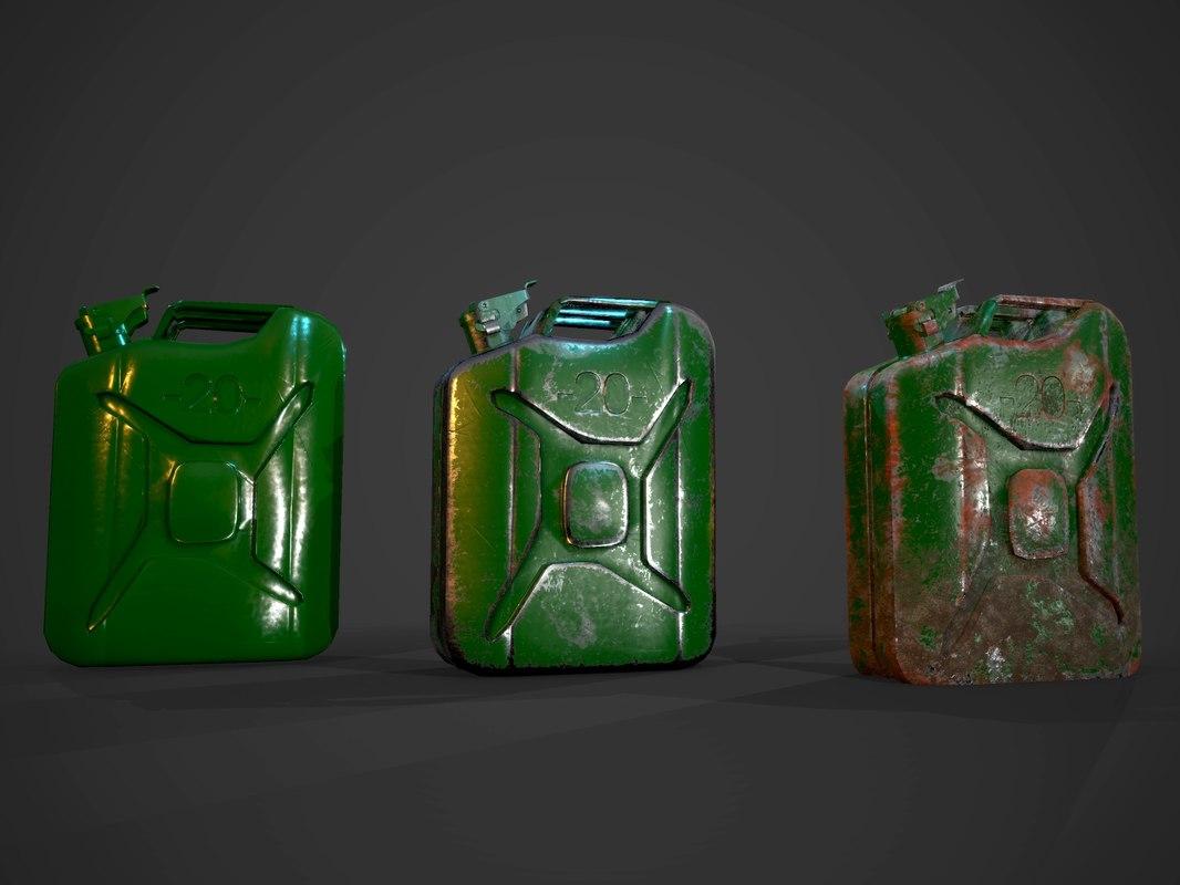 3d model canister