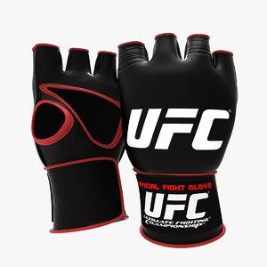 ufc gloves 3d 3ds