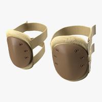 knee pads 3d model