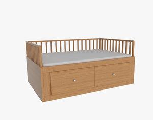 sofa kid bed 3d 3ds