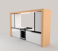 furniture kitchen 3ds