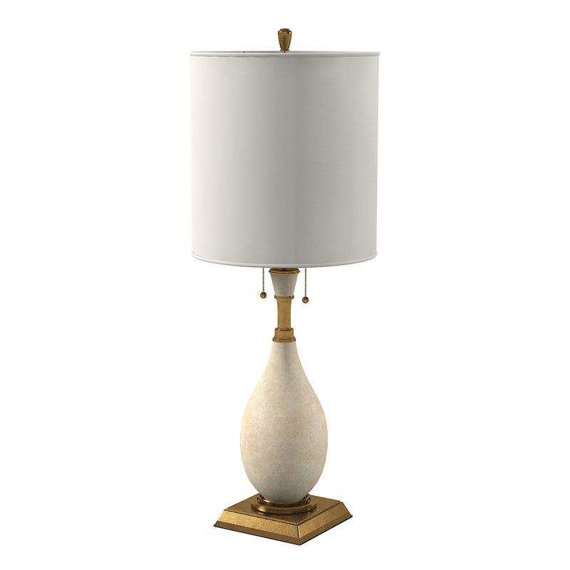 visual comfort tob3710ts table lamp 3d 3ds