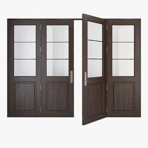 3d model of door 4