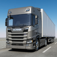 SCANIA R 500 With Trailer