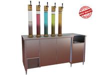 juice dispenser 3d max
