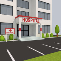 Low Poly Hospital